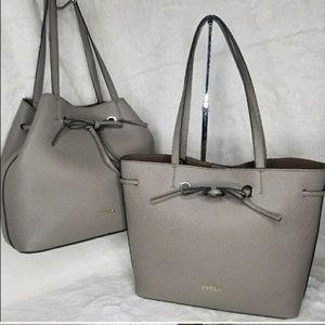 💯 authentic Furla designer leather bag